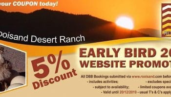 Early Bird 2019 Website Promotion