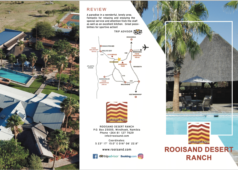 New ROOISAND Flyer