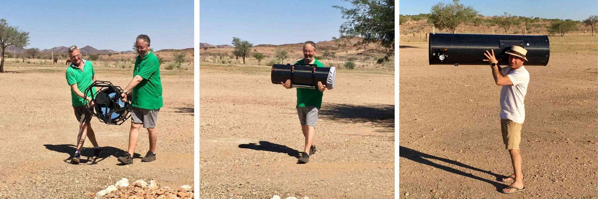 DeepSkySafaris lädt Sie auf die Rooisand Desert Ranch in Namibia ein!