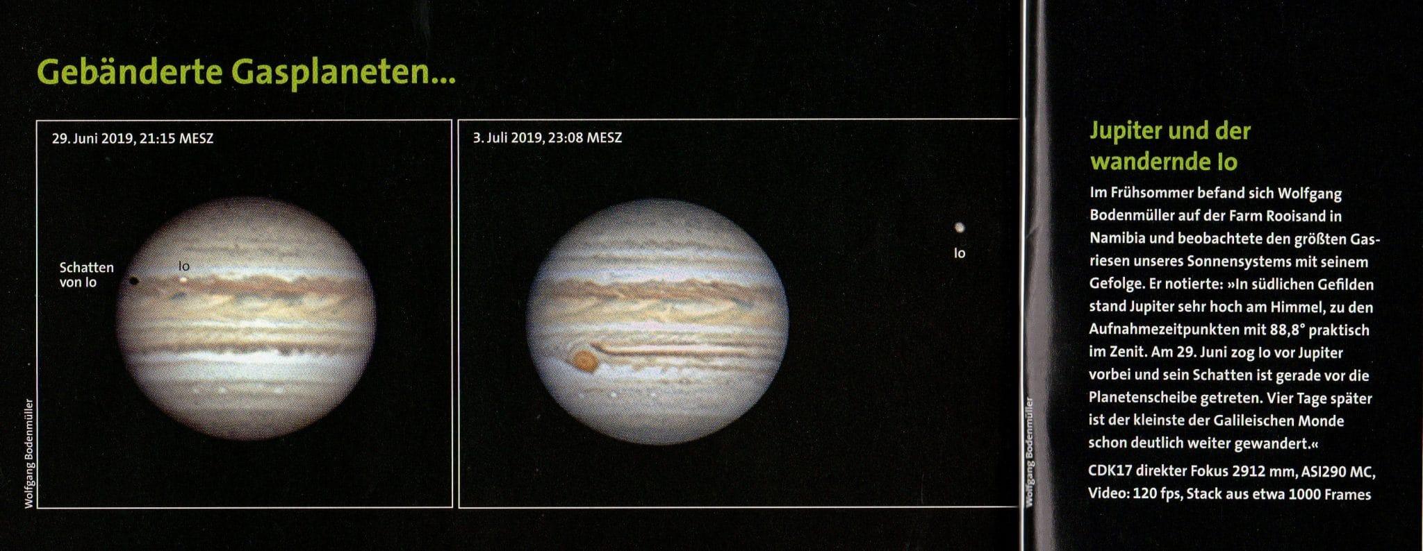 Bilder aus dem Observatorium